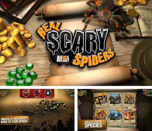 In addition to the game Killer Snake for Android phones and tablets, you can also download Real scary spiders for free.