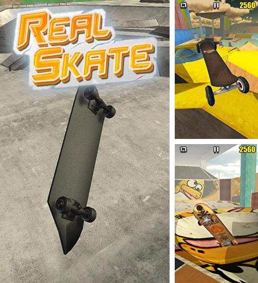 In addition to the game True Skate for Android phones and tablets, you can also download Real skate 3D for free.
