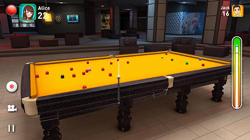 Screenshots von Real snooker 3D für Android-Tablet, Smartphone.