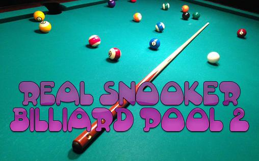 Real snooker: Billiard pool pro 2 poster