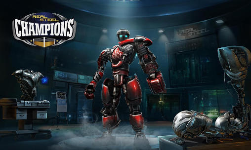 Real steel: Champions poster