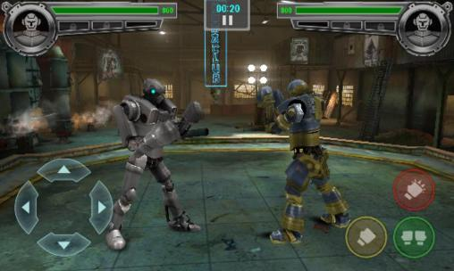 Screenshots von Real steel: Champions für Android-Tablet, Smartphone.