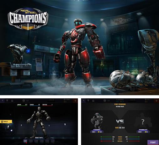 In addition to the game Steel: Street fighter club for Android phones and tablets, you can also download Real steel: Champions for free.
