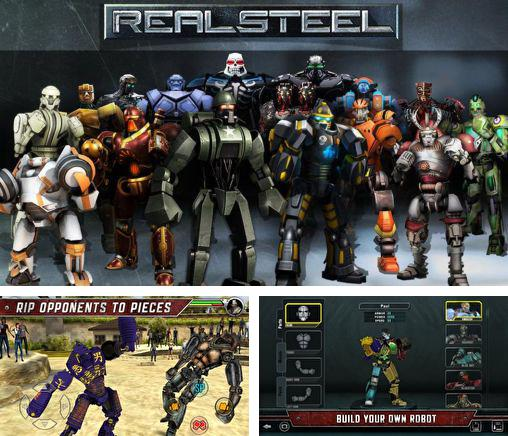 In addition to the game Steel: Street fighter club for Android phones and tablets, you can also download Real steel: Friends for free.