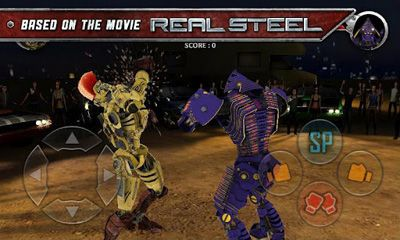 Screenshots von Real Steel HD für Android-Tablet, Smartphone.