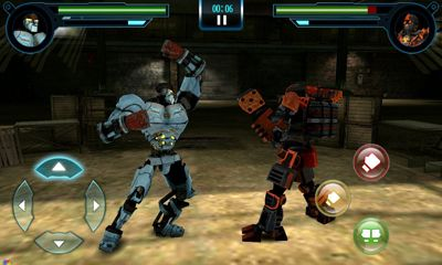 安卓平板、手机Real steel. World robot boxing截图。