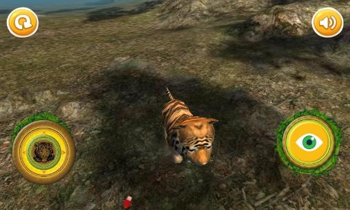 Screenshots von Real tiger cub simulator für Android-Tablet, Smartphone.