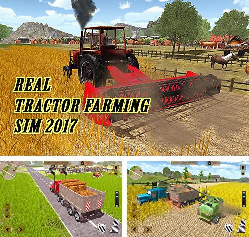 In addition to the game Farming simulator 2017 for Android phones and tablets, you can also download Real tractor farming sim 2017 for free.