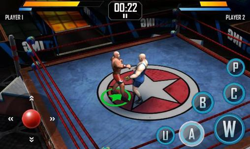 Download Real wrestling 3D Android free game.