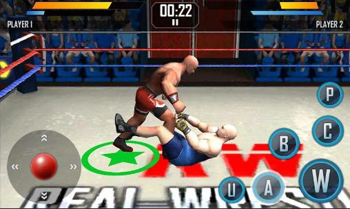Get full version of Android apk app Real wrestling 3D for tablet and phone.
