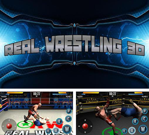 In addition to the game WWE wrestling 3D for Android phones and tablets, you can also download Real wrestling 3D for free.