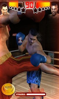 Screenshots of the Realtech Iron Fist Boxing for Android tablet, phone.