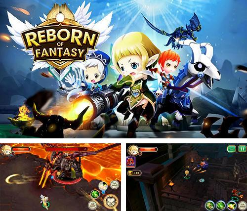 In addition to the game War of dragon ring for Android phones and tablets, you can also download Reborn of fantasy for free.