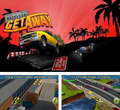 In addition to the game Reckless Racing for Android phones and tablets, you can also download Reckless Getaway for free.