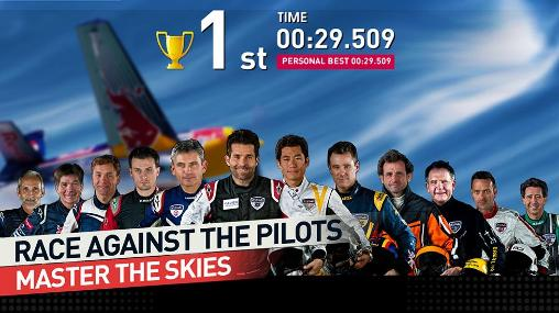 Capturas de pantalla de Red Bull air race: The game para tabletas y teléfonos Android.