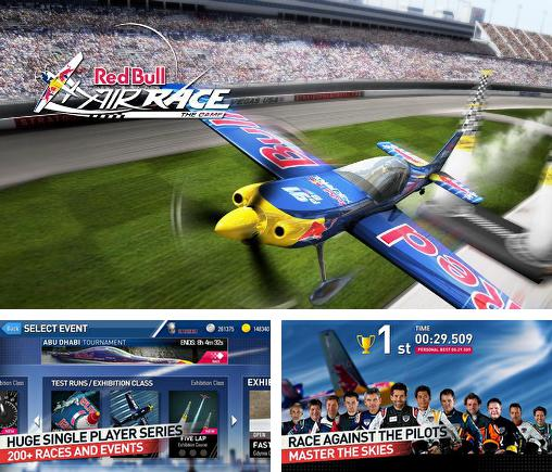 In addition to the game Red Bull X-Fighters Motocross for Android phones and tablets, you can also download Red Bull air race: The game for free.