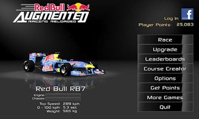 Download Red Bull AR Reloaded Android free game.