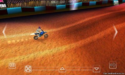 Screenshots of the Red Bull X-Fighters Motocross for Android tablet, phone.