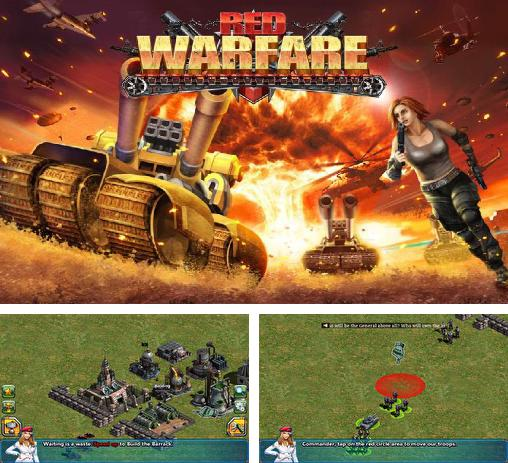 In addition to the game Pharaoh's war for Android phones and tablets, you can also download Red warfare: Let's fire! for free.
