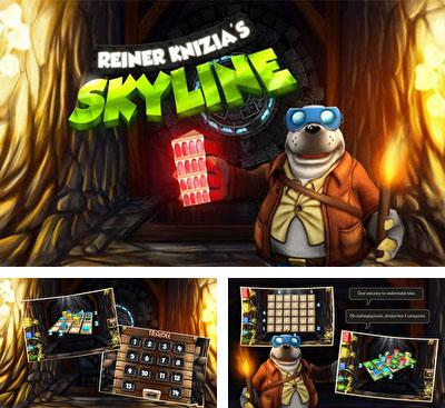 In addition to the game Tornado for Android phones and tablets, you can also download Reiner Knizia's Skyline for free.