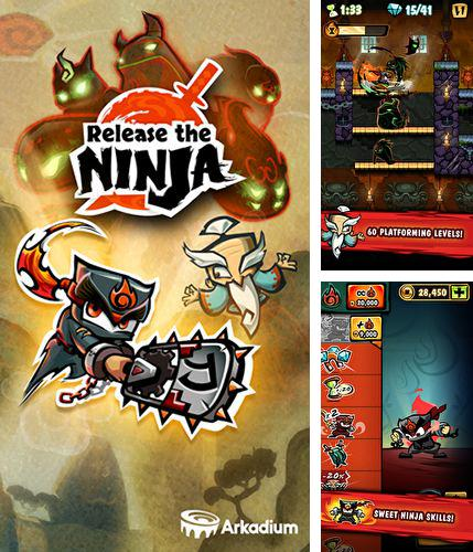 In addition to the game Black fist: Ninja run challenge for Android phones and tablets, you can also download Release the ninja for free.