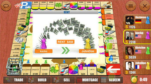 Rento: Dice board game online screenshot 2