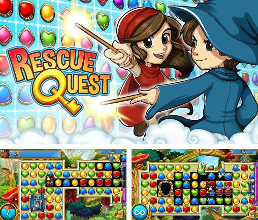 In addition to the game Gems of pharaoh for Android phones and tablets, you can also download Rescue quest for free.