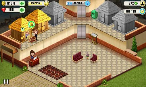Jogue Resort tycoon para Android. Jogo Resort tycoon para download gratuito.
