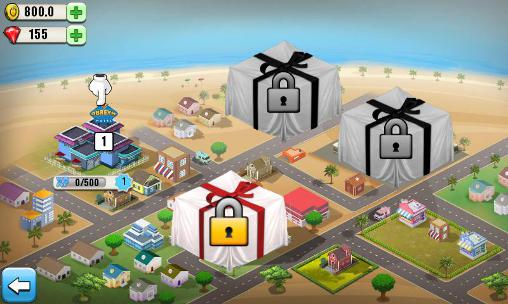 Screenshots do Resort tycoon - Perigoso para tablet e celular Android.
