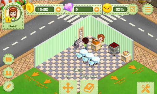 Jogue Restaurant dreams para Android. Jogo Restaurant dreams para download gratuito.