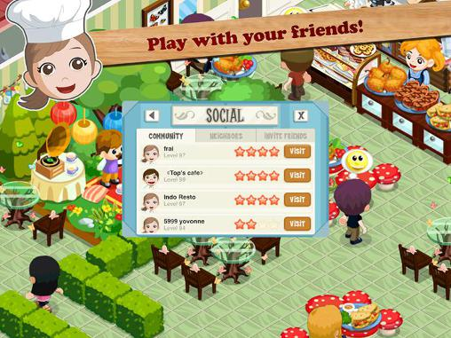 Jogue Restaurant story: Hot rod cafe para Android. Jogo Restaurant story: Hot rod cafe para download gratuito.