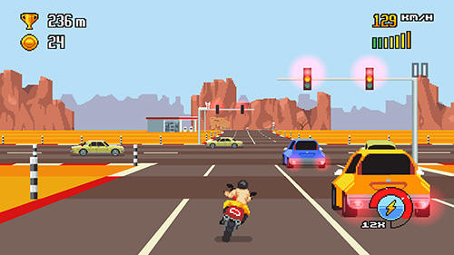 Screenshots von Retro highway für Android-Tablet, Smartphone.