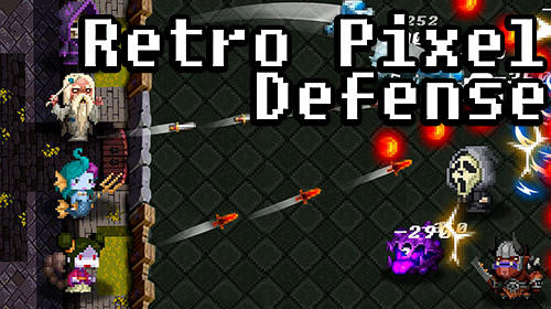 Retro pixel defense