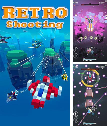 Retro shooting: Pixel space shooter