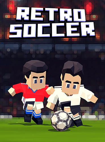 Retro soccer: Arcade football game