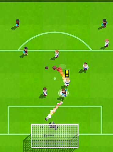 Screenshots of the Retro soccer: Arcade football game for Android tablet, phone.