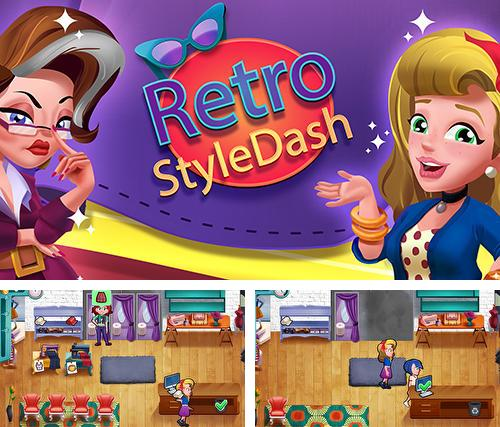 Retro style dash: Fashion shop simulator game