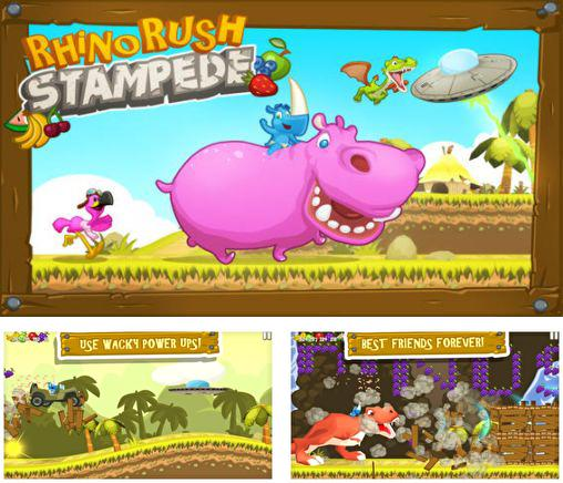 In addition to the game One tap hero for Android phones and tablets, you can also download Rhino rush: Stampede for free.