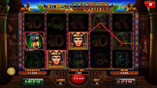Riches of Cleopatra: Slot картинка из игры 3