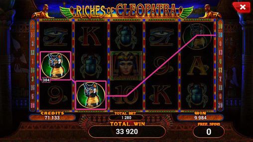 Riches of Cleopatra: Slot скриншот 5