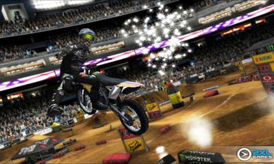 Screenshots von Ricky Carmichael's Motocross für Android-Tablet, Smartphone.