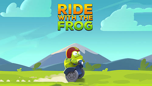 Ride with the frog poster