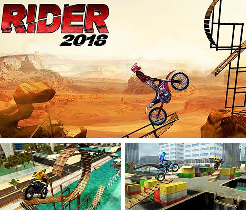 Rider 2018: Bike stunts