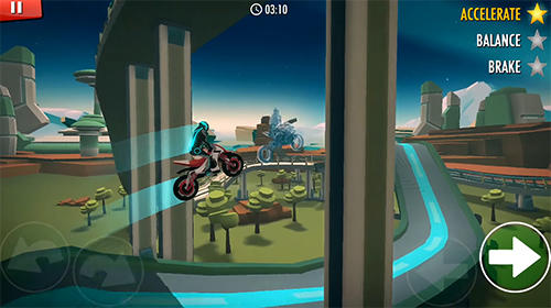 Скачати гру Rider: Space bike racing game online на Андроїд телефон і планшет.