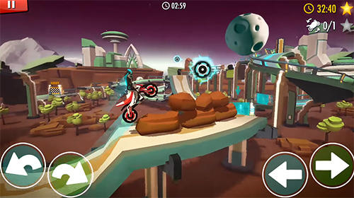 Гра Rider: Space bike racing game online на Android - повна версія.
