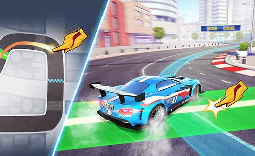 Ridge racer: Draw and drift screenshot 1