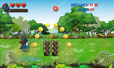 Riding Hero Knight Dash screenshot 1
