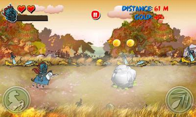 Riding Hero Knight Dash screenshot 2