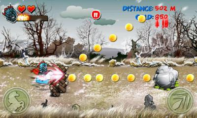 Screenshots von Riding Hero Knight Dash für Android-Tablet, Smartphone.