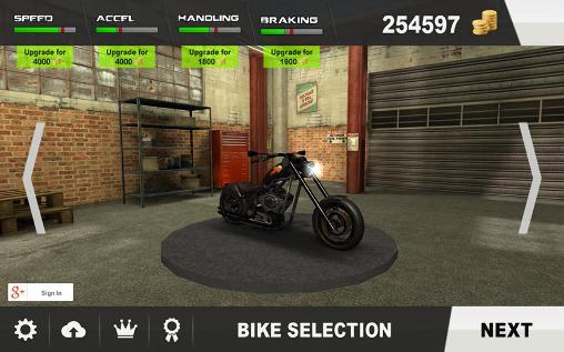 Screenshots von Riding in traffic online für Android-Tablet, Smartphone.